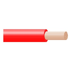 Cavo Flex H07Z1-K 1X2,5 Rosso Matassa