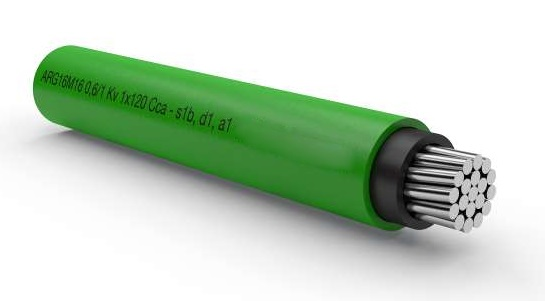 Cavo Alluminio Guaina RG16M16 1X150