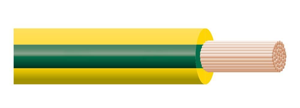 Cavo H07Z1-K Type 2 1G1,5 Giallo/Verde Terra Matassa