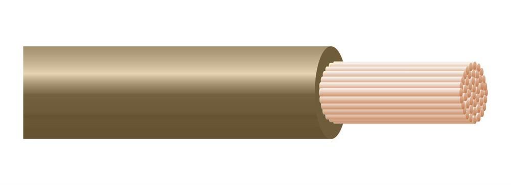 Cavo H07Z1-K Type 2 1X1,5 Marrone Matassa