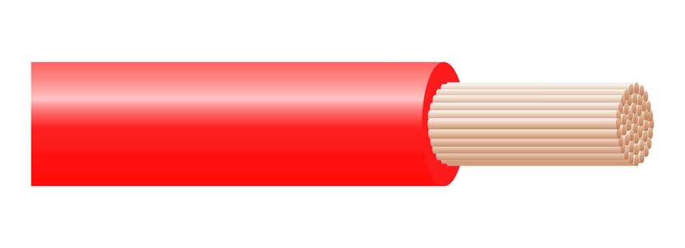 Cavo H07Z1-K Type 2 1X1,5 Rosso Matassa