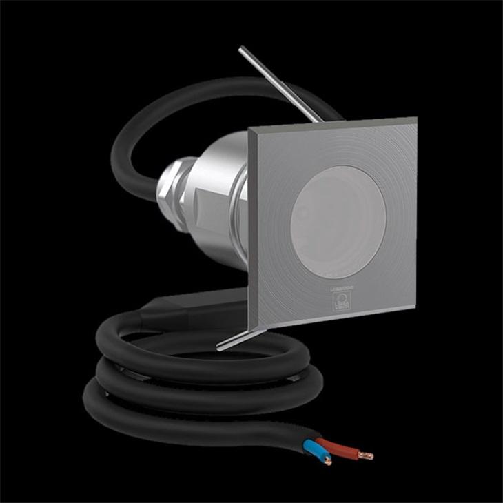 CNC35 Q LED 180LM 3K INOX SP.