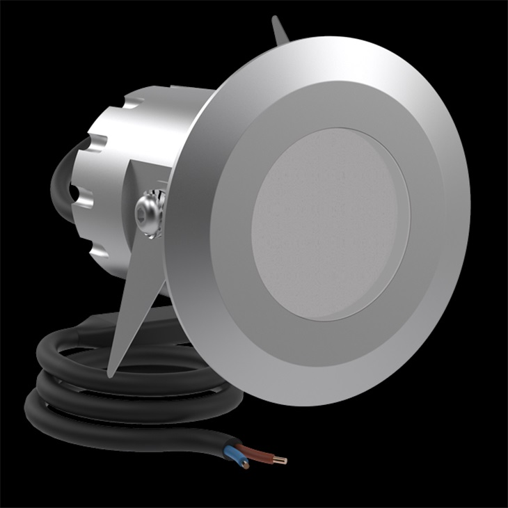 CNC50 T LED 650LM 3K INOX SP.