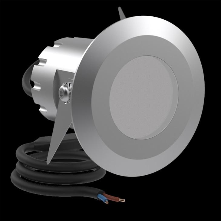 CNC50 T LED 650LM 4K INOX SP.
