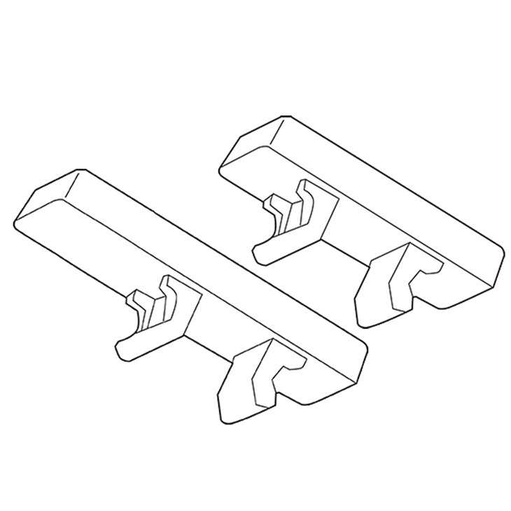 Targhetta segnacavo Cembre MG-CPM-01 Bianca 5X10 X M