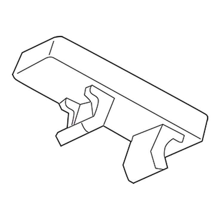 TARGHETTA MG-CPM-02 BIANCA 5X10 X M