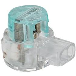 Connettore per bassa tensione con prolunga a 2 ingressi (x 100)