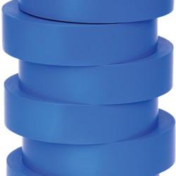 Nastro di isolamento e di individuazione elettrica 19 mm x 20 m x 0.15 mm SP blu