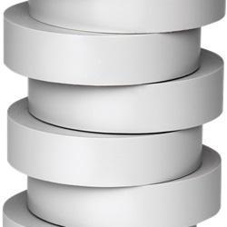 Nastro di isolamento e di individuazione elettrica 19 mm x 20 m x 0.15 mm SP grigio