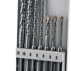 Astuccio da 7 punte calcestruzzo SDS+ 2 taglienti Ø 5-12 mm