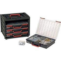 Valigetta a 4 cassetti 376 x 265 x 310 mm