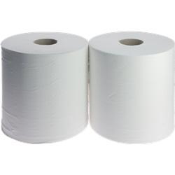 Rotoli per asciugatura ovatta bianca (x 2)