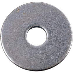 Rondella piatta extra large M5 (x 100)