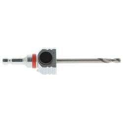 Albero esagonale per seghe a campana CLIC II con punta HSS 120 mm