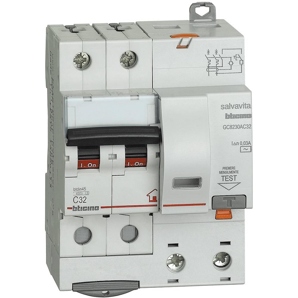BTDIN-RS - MAG. DIFF. 2P 30MA AC 32