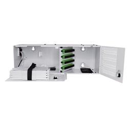 Box di terminazione (PRI) con connettori 48 SC/APC + 4 cassette