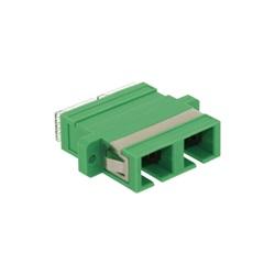 Bussola monomodale verde SC/APC duplex