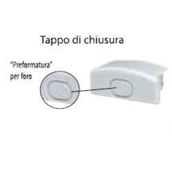 Tappo Universale Di Chiusura Per Profilo Angolare S45