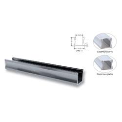 Copertura 2Metri Trasparente Per Profilo S17 ( Conf. Commerciale 5Pz)