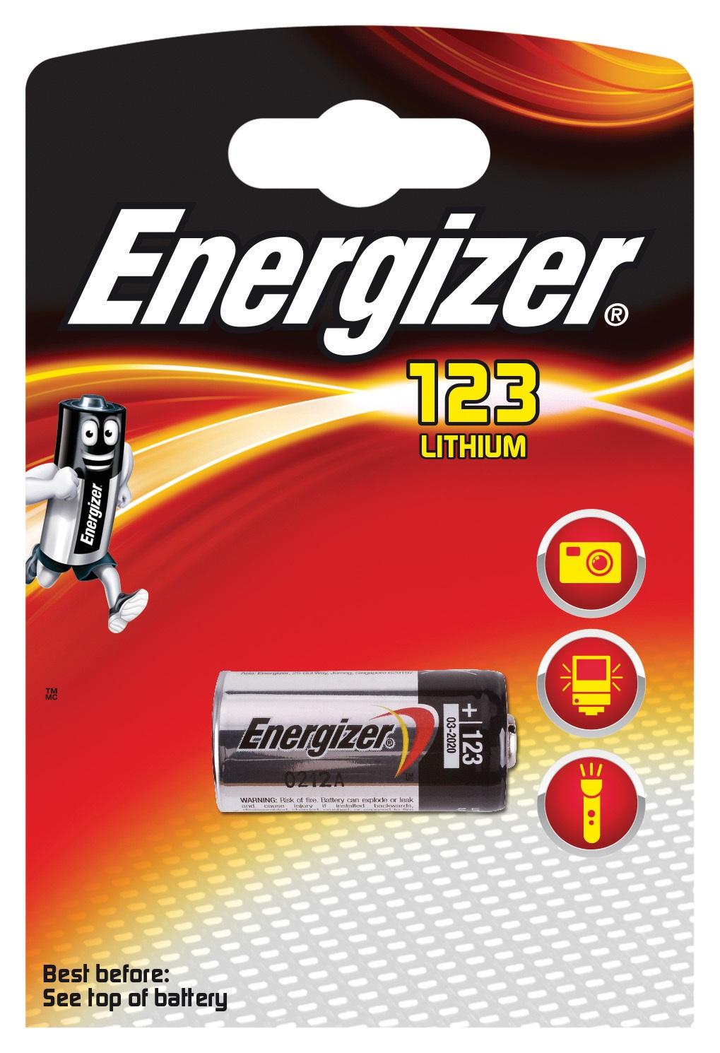 Lampada Da Lettura Energizer.Energizer 7638900052008 Pila 123 3v Rexel
