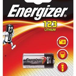Pila Energizer 123 3V