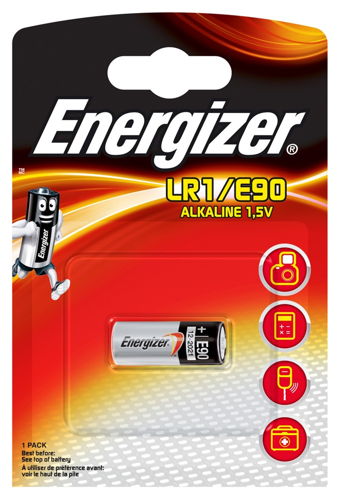 ENERGIZER LR1/E90 Alkaline BP1