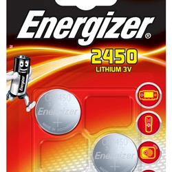 ENERGIZER CR2450 Lithium BP2