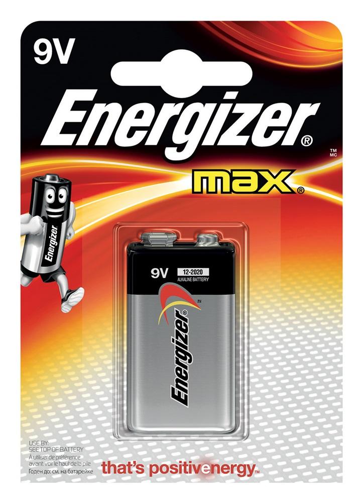 Pila Energizer 9V TRANSISTOR MAX