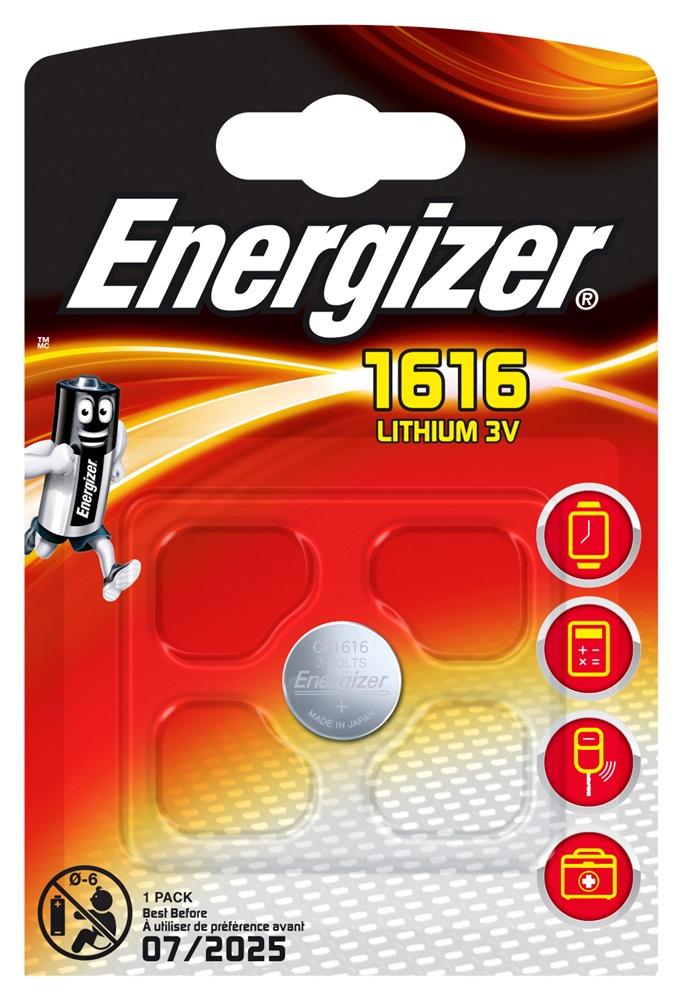 ENERGIZER CR1616 Lithium BP1