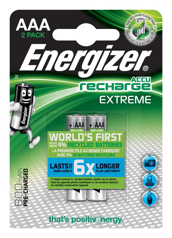ENERGIZER Extreme AAA BP2 PreCar. 800