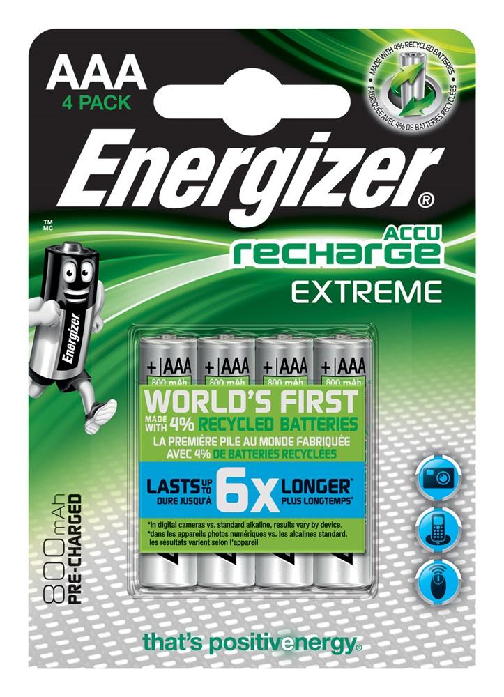 ENERGIZER Extreme AAA BP4 PreCar. 800