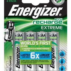 ENERGIZER Extreme AA BP4 PreCar. 2300