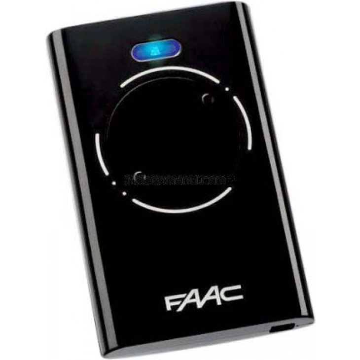 Telecomando trasmittente Faac XT2 868MHz SLH LR Nero