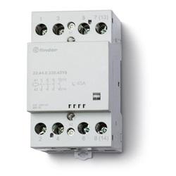 Contattore modulare 230...240 V Tutti i contatti NO