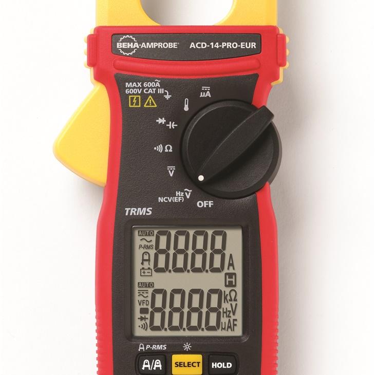 PINZA 600A AC - 600V AC/DC