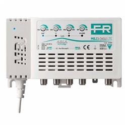 Centralino Tv 4 ingressi 35db LTE