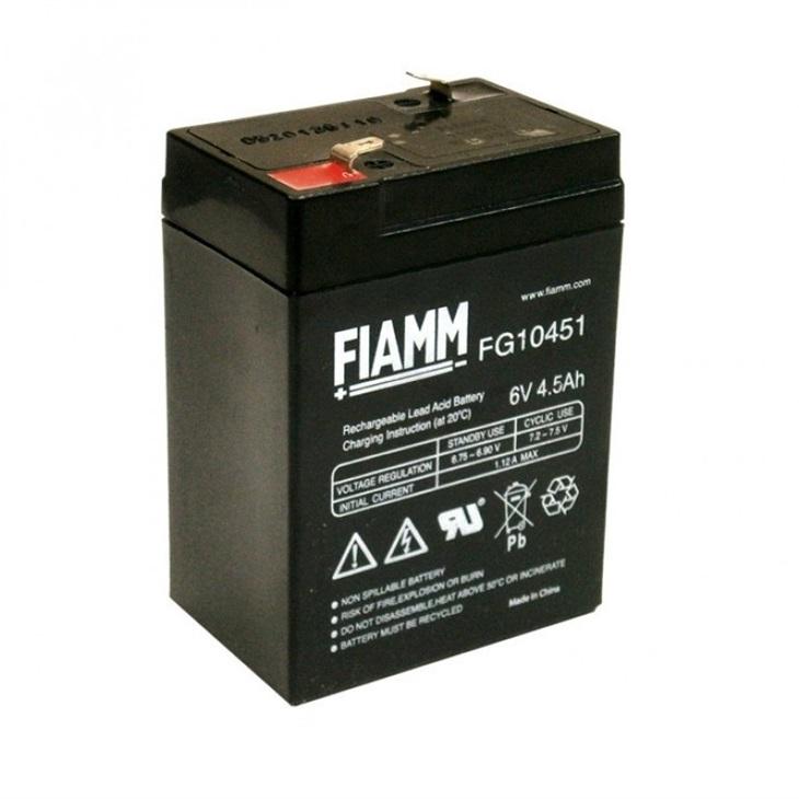 Batteria Fiamm 4,5Ah 6V