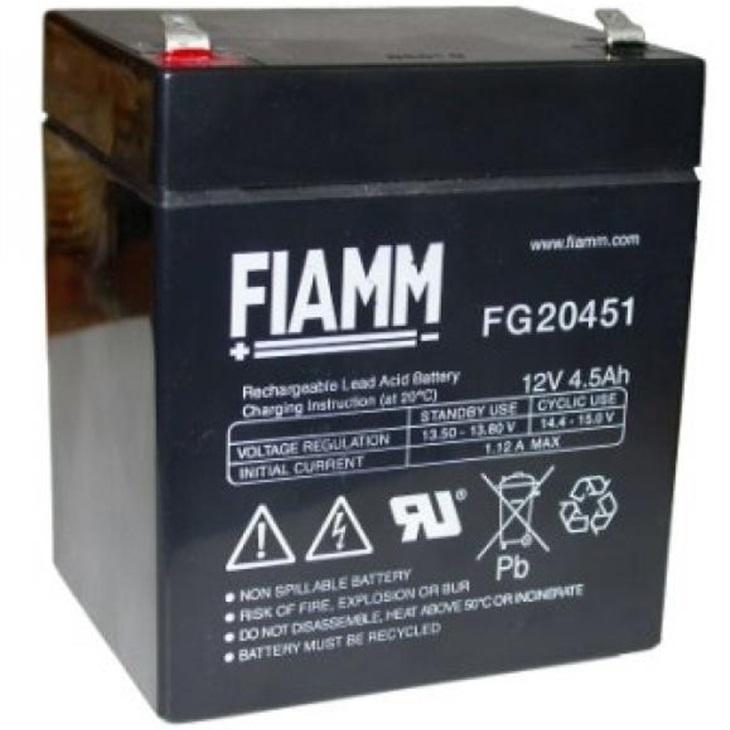 Batteria Fiamm 4,5Ah 12V