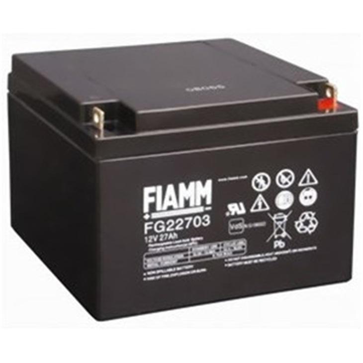 938206 Batteria Fiamm 27Ah 12V