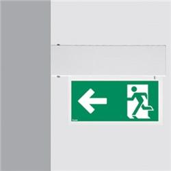 Apparecchio da parete per segnalazione di emergenza - LED - Auto-Test
