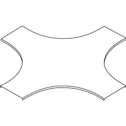 GLO4-COPERCHIO INCROCIO R450 L400ZC