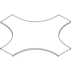 GLO4-COPERCHIO INCROCIO R450 L600ZC