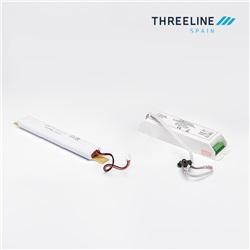 Kit di emergenza per tubi T8 e T5 da 8 a 20W con 1 ora di autonomia