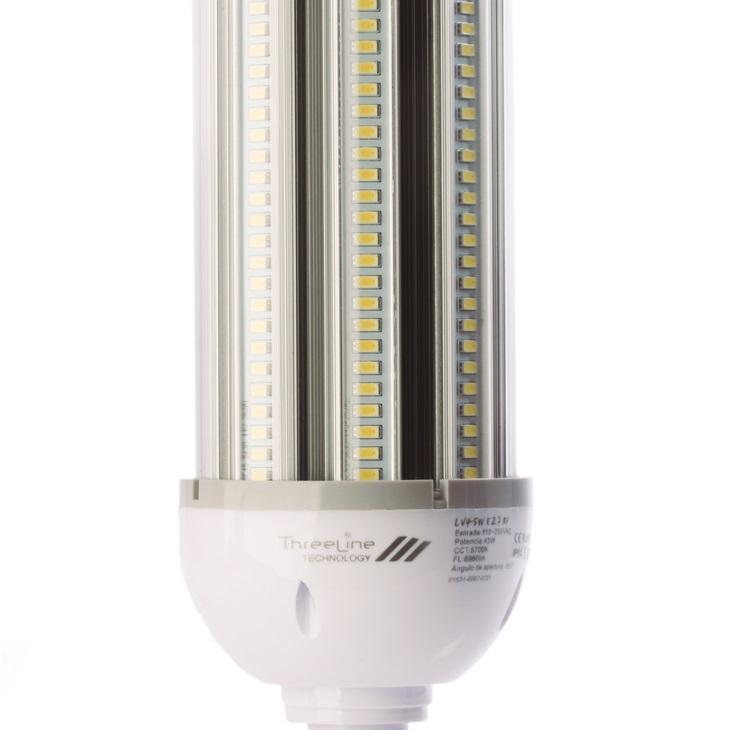 Lampada stradale LED 54W E40 Bianco Neutro apertura 360