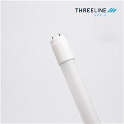 Tubo LED 60cm 9W in vetro con copertura in policarbonato Bianco Neutro apertura 330º