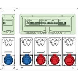 KAEDRA BOX SMALL 4 - 5 PRESE 63A