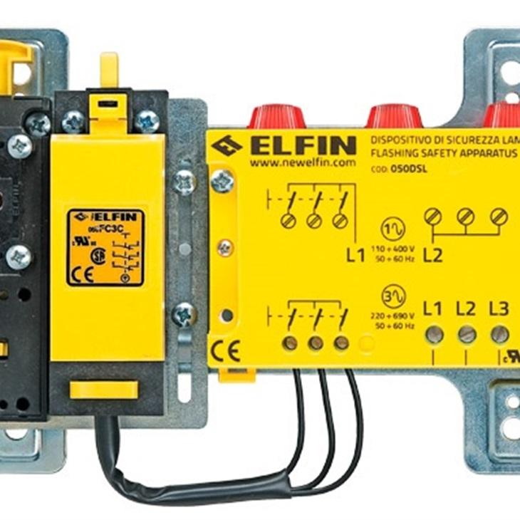 Dispositivo di sicurezza lampeggiante cablato 220-690V FC3C 1NC