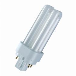 Lampada OSRAM DULUX D/E G24q-2 18 W 4000 K