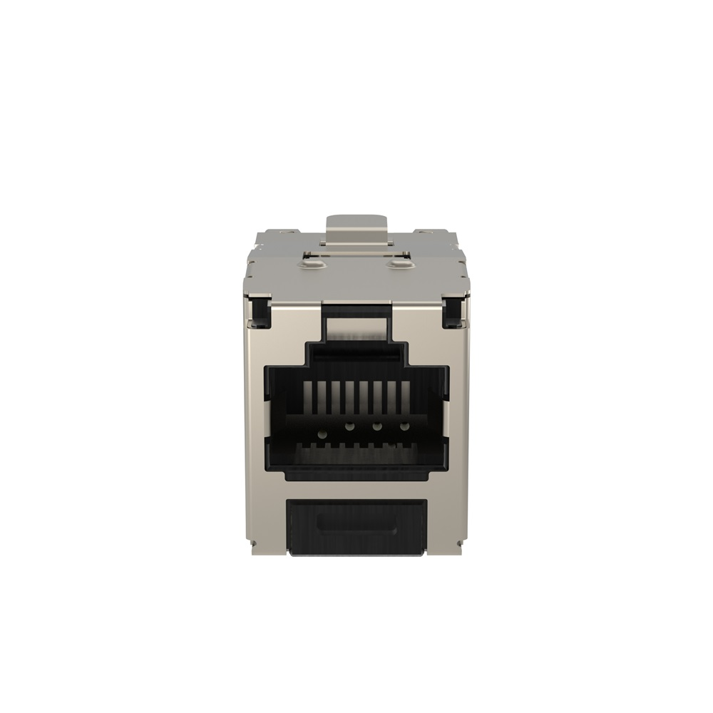 Connettore Mini-Com TX5e Shielded Jack Modules Modular Jack 8 contatti 1 porta