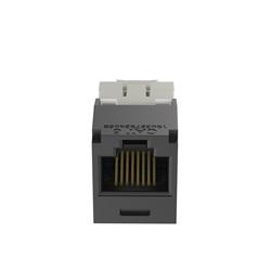 Modulo a 8 cavi universali UTP Categoria 6 RJ45 8 posizioni Mini-com jack nero